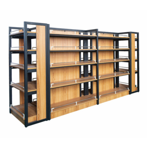 Hot-Popular-Gondola-Wooden-Supermarket-Display-Shelf